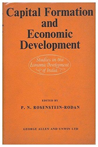9780262180115: Capital Formation and Economic Development