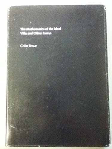 9780262180771: Mathematics of the Ideal Villa and Other Essays