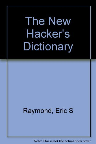 9780262181549: The New Hacker's Dictionary