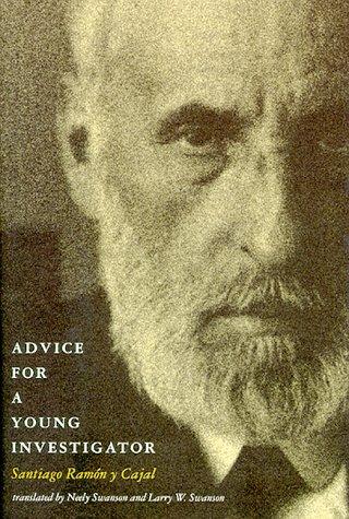 9780262181914: Advice for a Young Investigator (Bradford Book)