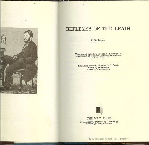 9780262190152: Reflexes of the Brain