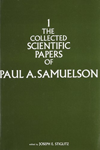 9780262190213: Collected Scientific Papers of Paul A. Samuelson