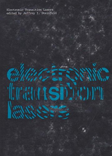 9780262191463: Electronic Transition Lasers (v. 1)