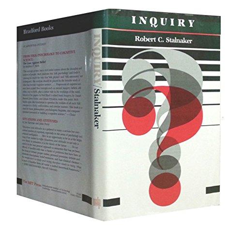 9780262192330: Inquiry (A Bradford book)