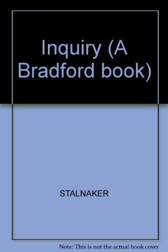 9780262192330: Inquiry