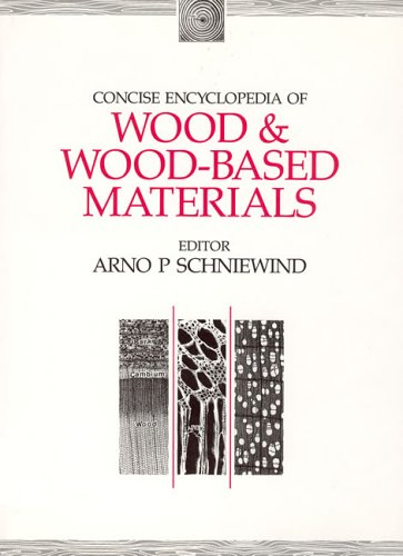 9780262192897: Concise Encyclopedia of Wood and Wood-Based Materials (Advances in Materials Science and Engineering)