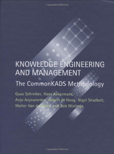 9780262193009: Knowledge Engineering and Management: The CommonKADS Methodology