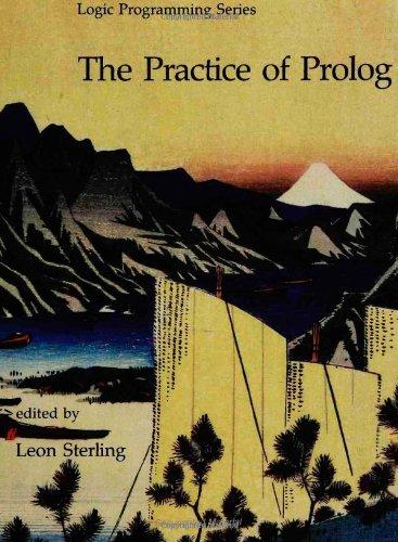 9780262193016: The Practice of PROLOG (Logic Programming)
