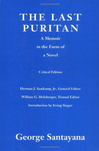 9780262193283: The Last Puritan: A Memoir in the Form of a Novel