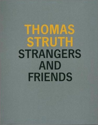 9780262193573: Strangers and Friends: Photographs 1986-1992