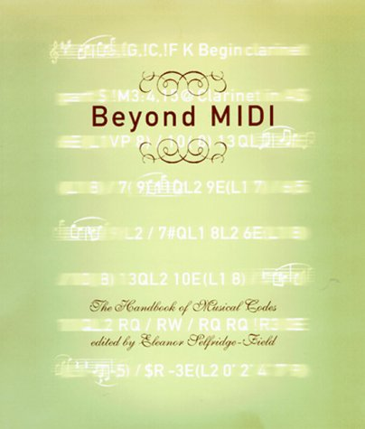 9780262193948: Beyond MIDI: The Handbook of Musical Codes