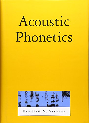 9780262194044: Acoustic Phonetics (Current Studies in Linguistics)