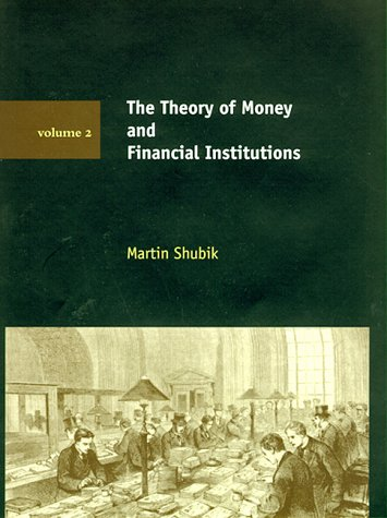 9780262194280: The Theory of Money and Financial Institutions, Vol. 2
