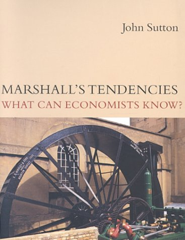 9780262194426: Marshall's Tendencies: What Can Economists Know? (Gaston Eyskens Lectures)