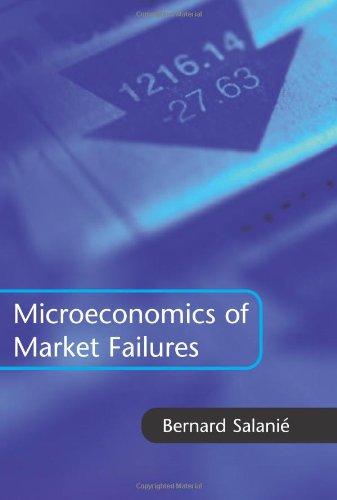 9780262194433: The Microeconomics of Market Failures