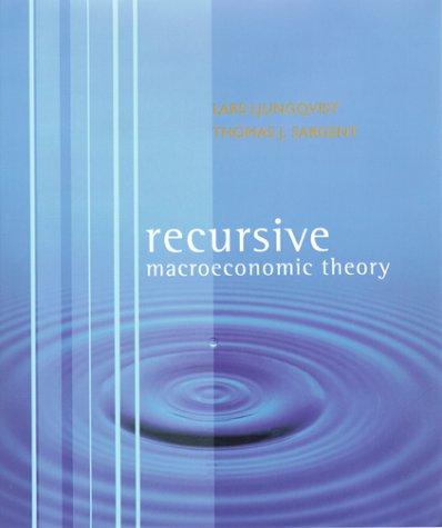 9780262194518: Recursive Macroeconomic Theory