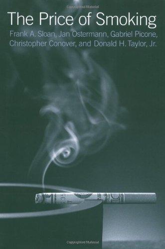 9780262195102: The Price of Smoking (MIT Press)