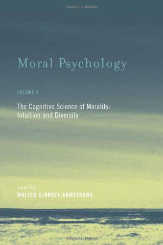 9780262195690: Moral Psychology: Cognitive Science of Morality - Intuition and Diversity v. 2 (Bradford Books)