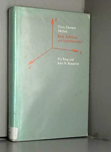 9780262200325: Finite-Element Method: Basic Technique and Implementation