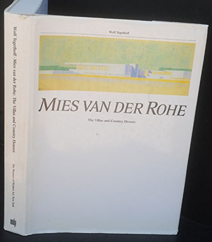 9780262200509: Mies van der Rohe: The Villas and Country Houses