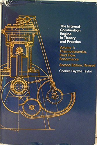 9780262200516: Internal Combustion Engine in Theory and Practice: v. 1