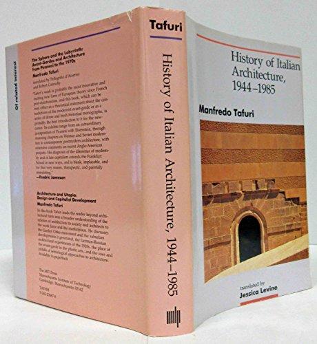 9780262200677: History of Italian Architecture, 1944-85