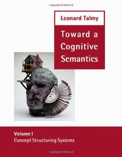 9780262201209: Concept Structuring Systems (Toward a Cognitive Semantics, Vol. 1)