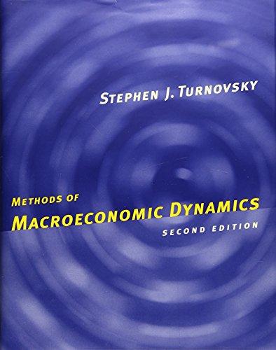 9780262201230: Methods of Macroeconomic Dynamics