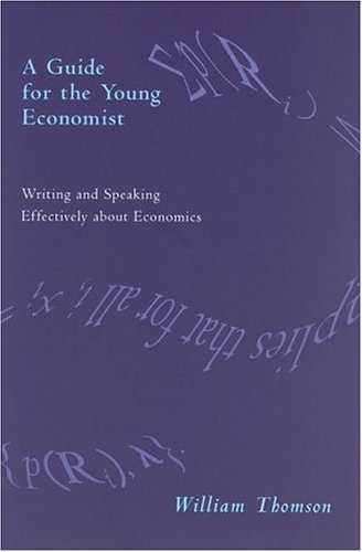 9780262201339: A Guide for the Young Economist