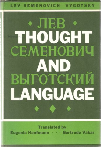 9780262220033: Thought and Language