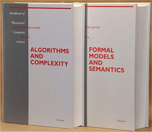 9780262220408: Leeuwen: Handbook of Theoretical Scien