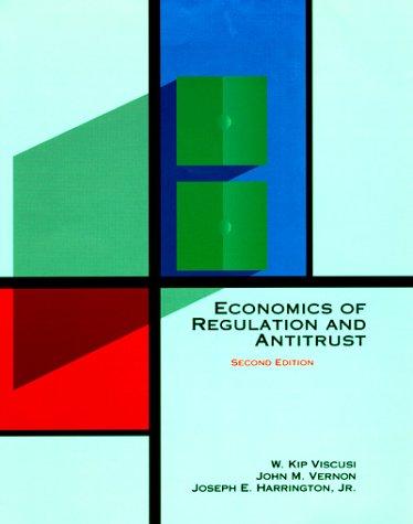 9780262220491: Economics of Regulation and Antitrust