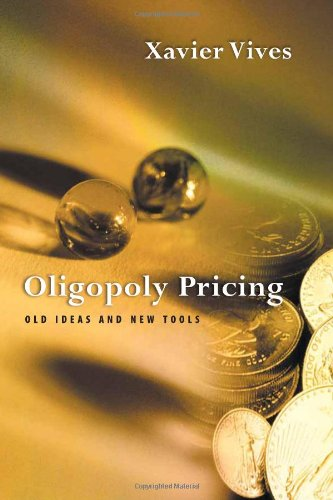 9780262220606: Oligopoly Pricing: Old Ideas and New Tools