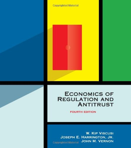 9780262220750: Economics of Regulation and Antitrust, 4th Edition (MIT Press)