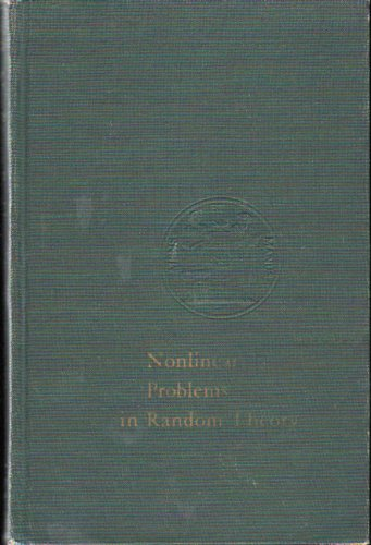 9780262230049: Nonlinear Problems In Random Theory