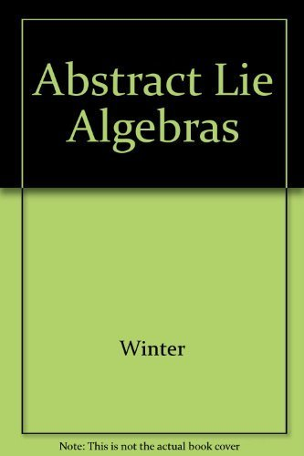9780262230513: Abstract Lie Algebras