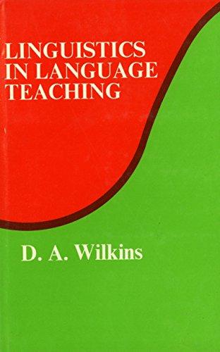 9780262230605: Linguistics in Language Teaching