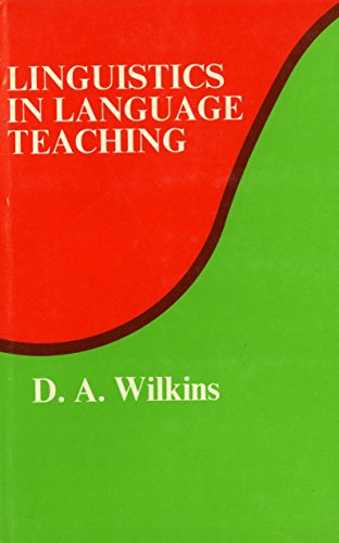 9780262230605: Wilkins: Linguistics in Language Teaching