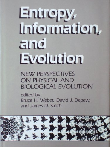 9780262231329: Entropy, Information and Evolution: New Perspectives on Physical and Biological Evolution (A Bradford Book)