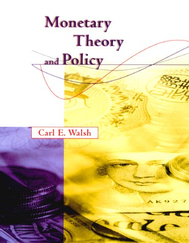 9780262231992: Monetary Theory and Policy
