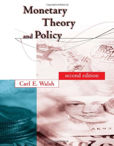 9780262232319: Monetary Theory and Policy