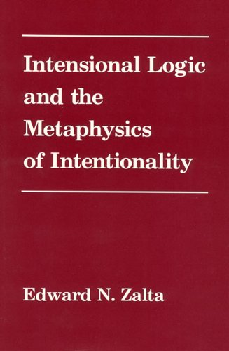 9780262240277: Intensional Logic and Metaphysics of Intentionality