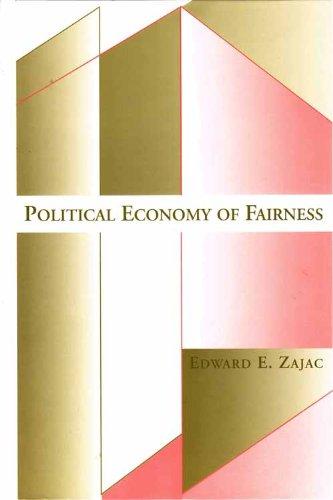 9780262240383: Political Economy of Fairness