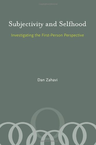 9780262240505: Subjectivity and Selfhood: Investigating the First-Person Perspective (A Bradford Book)