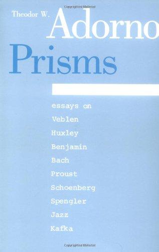 9780262510257: Prisms