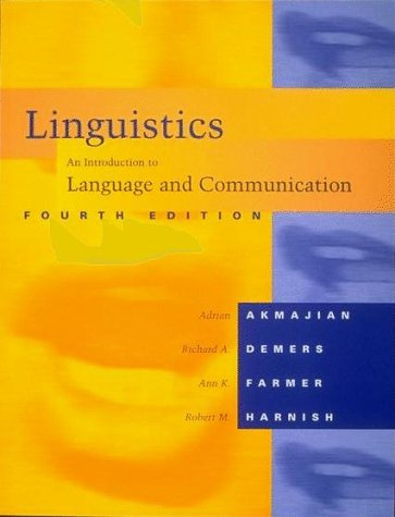 9780262510868: Linguistics: An Introduction to Language and Communication