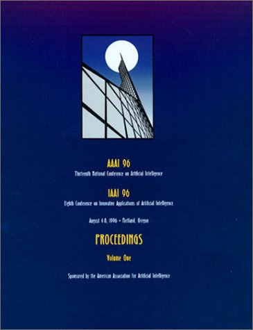 9780262510912: AAAI-96: Proceedings of the 13th National Conference on Artificial Intelligence