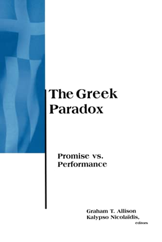 9780262510929: The Greek Paradox: Promise Vs. Performance (BCSIA Studies in International Security)