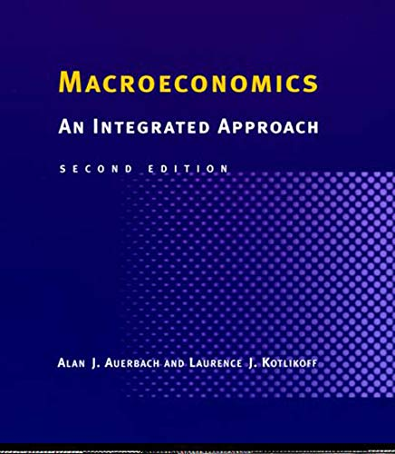 9780262511032: Macroeconomics - 2nd Edition: An Integrated Approach