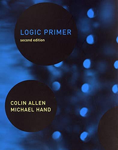9780262511261: Logic Primer - 2nd Edition